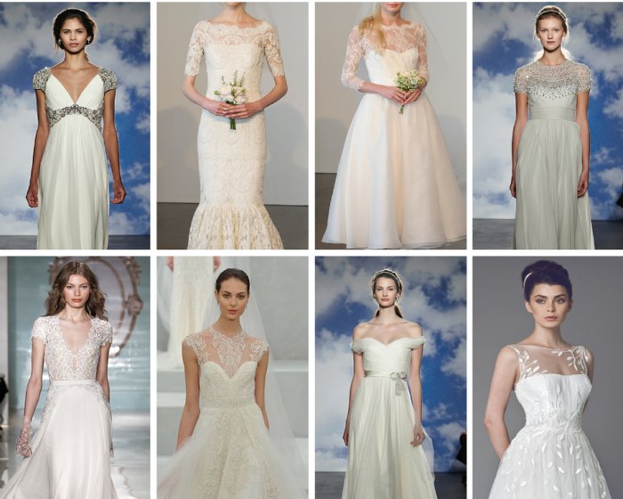 The Boutique Wedding Co. Wedding Dress Trends 2015-New Necklines