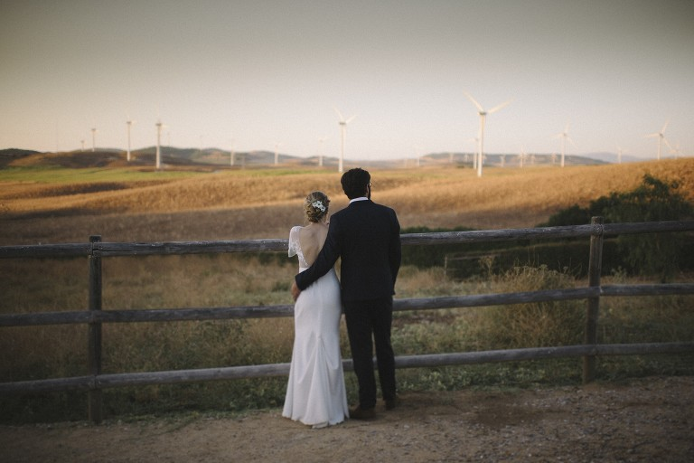 wedding in vejer, spain